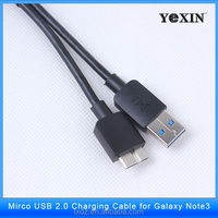 free sample High quality 100% guarantee yexin Original micro USB Cable for Samsung Galaxy S5 /note3note 3