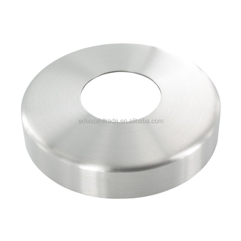 Stamping Stainless Steel Handrail Fitting Base Plate Cover