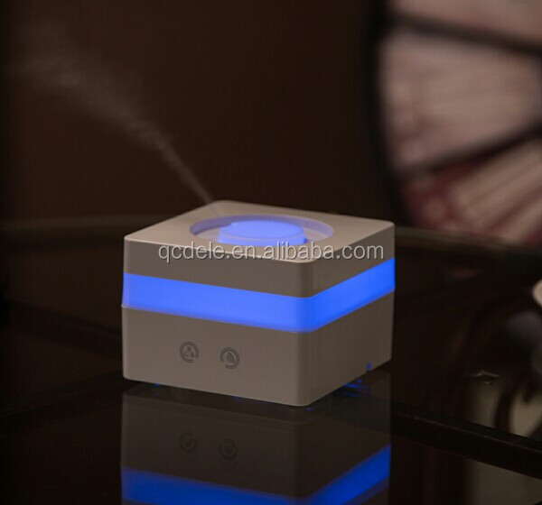 Mini LED USB electric Air Humidifier Essential Oil Aromatherapy Aroma Diffuser Ultrasonic with smart touch button