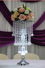 hot and new crystal flower stand for wedding table decoration and wedding centerpieces/WEDDING/TABLE DECORATION/CHEAP
