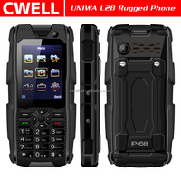2.4 Inch TFT Screen Dual SIM IP67 Waterproof Shockproof Mobile Phone UNIWA L28
