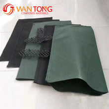 100% virgin 600g/m2 Polypropylene Geobag in protection river 600gsm Polyester Non Woven cloth material for making Geobags