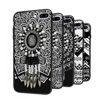 National Style Retro Pattern Totem Cell Phone Case For Apple iphone 5 5c 5s Case 4.7