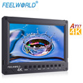 Ultra Thin Design Full HD 1920x1200 7 Inch 4K HDMI Camera Field Monitor With Embedded Audio Meter For Film Production