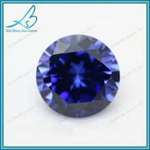 Factory price round brilliant cut 3mm blue lab grown diamond loose