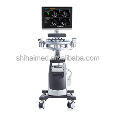 Chison QBit 9 color doppler ultrasound machine with trolley /CE FDA Aprroved Chison QBit 9 4D Color Doppler Trolley Ultrasound