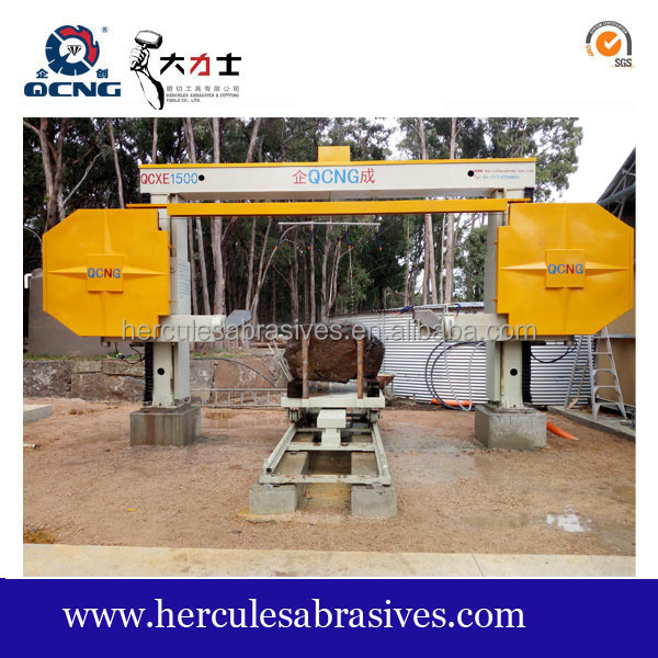 Stone mono diamond wire saw cutting machine