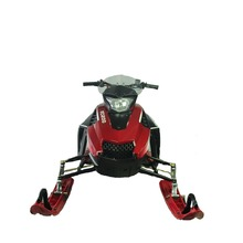 Environmental snow mobile best motorized snow scooter gas snowmobile