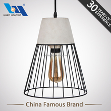 Huayi Retro Cement Barbed Wire Modern Decorative Pendant Light Chandelier