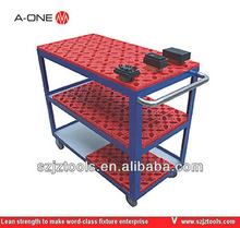 moving hand push carts with 4 wheel or for storage electrode cart