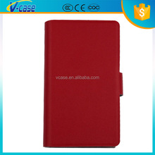 Pink Red Black color Genuine Real Leather Case Flip Cover Card Slot Wallet for Nokia Lumia 820