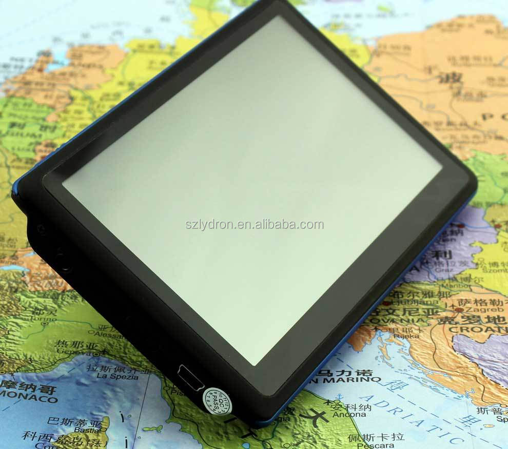 5 inch Built in 8GB Free GPS Maps Universal Car Navigation GPS Multimedia Navigator BOX