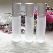 China glass bottle Container glass perfume bottle with metal roller ball and glass bottle for air freshener