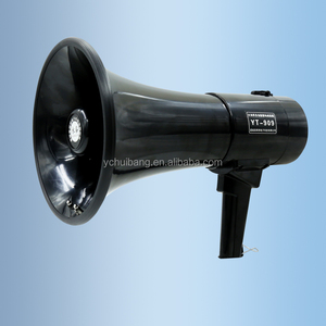 super high power high quality handy recordable blue tooth megaphone loudspeaker with microphone and USB