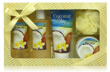 Pleasant Coconut Festival Bath Set Gift