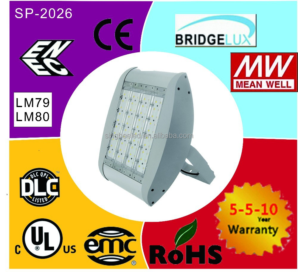 UL&DLC&ENEC&EMC&CE approval 90-480V/SP-2026/IP66/cool white outdoor led gooseneck light LED flood light