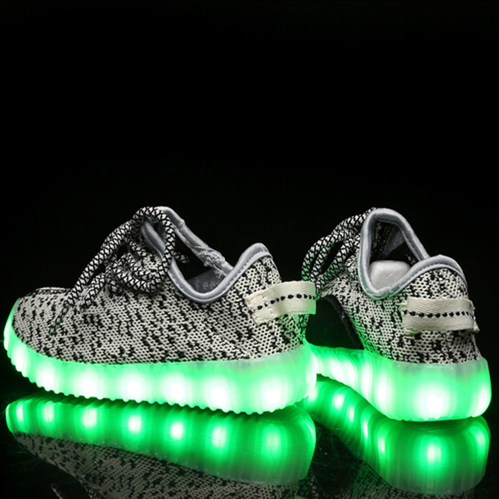 Custom Size Comfortable Leisure led light up shoes