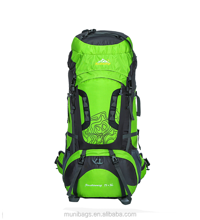 Internal Frame Backpack Hiking Backpacking Packs for Outdoor Hiking Travel Climbing Camping Mountaineering with Rain Cover