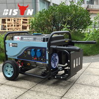 BISON China Taizhou BS3000E 1 Phase 5kva Max Power Engine Mahindra Generators Price Rear Cover 2.5kw Generator