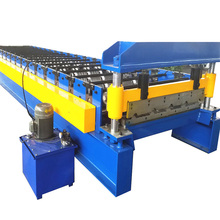 Popular Automatic Trapezoidal Roof Wall Mental Panel Cold Roll forming Machine