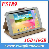 New Star F5189 MTK8389 Quad Core Tablet PC 7 Inch IPS Screen Android 4.2 3G GPS Phone 16GB Bluetooth WCDMA