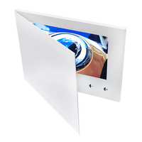 New Arrival UV Varnishing 10 Inch Digital Lcd Video Brochure