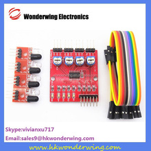 4 road Infrared Tracing Module/Patrol Modules/Obstacle Avoidance/Car/Robot