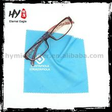 Colourful logo print microfiber glasses lens cleaning cloth, glasses microfiber wiping cloth, glasses cloths