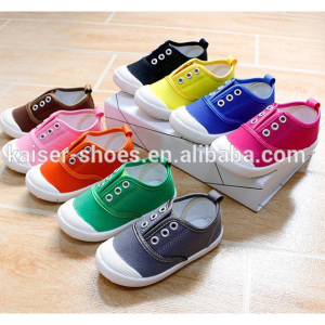 TM17-011 new China Cheap Product Kids Canvas Shoes,Casual Fashion Children colorful shoes