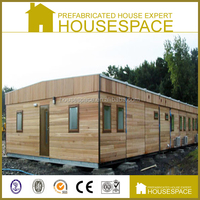 Single Storey Sandwich Panel Prefabricated 2 Bedroom Wooden Houses