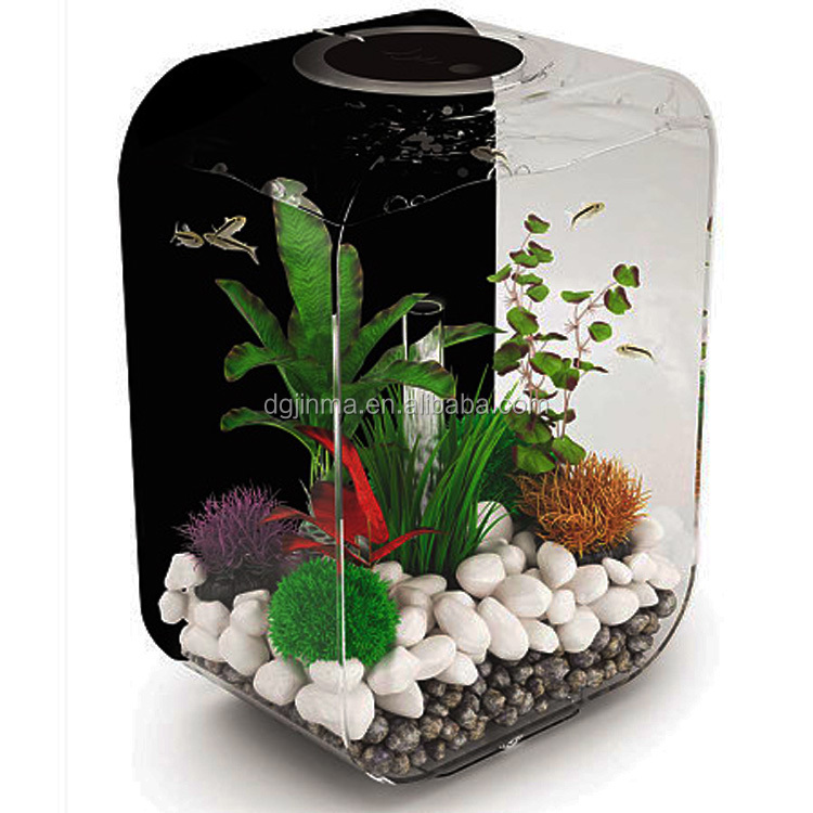 oem design acrylic fish farming tank
