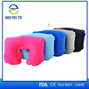 top seller custom travel inflatable pillow case u shape neck pillow for travelling