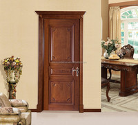 Alibaba China wooden doors supplier Finished Surface Finishing and Entry Doors Type main door models