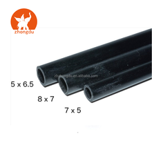 Carbon Fiber Round Tubes 7mm x 5mm 1000mm for Kites RC Airplanes