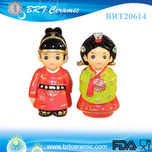 wholesale resin Korean Couple Figurine valentines day