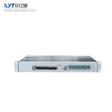 1U WDM integrated transmission platform with network manegement interface card with double power supply
