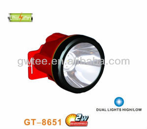 high power led headlamp with lithium battery GT-8651