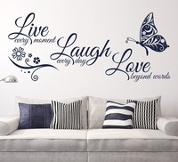Myway Wall Art Sticker Modern Wall Decals Quotes Vinyls Stickers Wall Sticker Room Home Decor