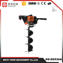 52cc 2.2kw hot sale earth auger with drill bits