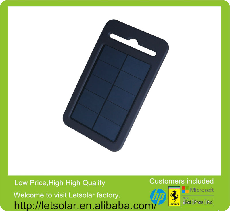 2014 high efficiency compete silicon case, waterproof solar portable battery charger for iphone5 & Smartphone