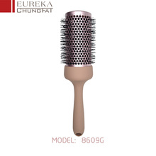 Professional Hairdresser Creative Rolling Hair Salon Ceramic Hair Brush,round hair brush