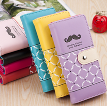 New Korea Style Lady long purse clean whiskers wallet card package key clutch bag wholesale
