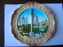 Polyresin 3d indian Taj Mahal tourist souvenir fridge magnet