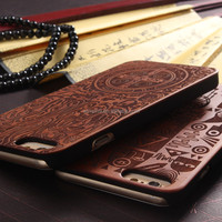 2016 newest cell phone wood mobile case for iphone 6s case case for iphone 5