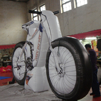 Customzation!!! inflatable bike model/replica for advertising event promotional W722