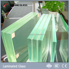 Laminated glass 38mm thick glass