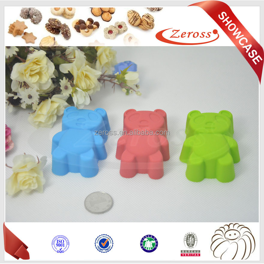 China Manufacturer Silicone Cup Cake Molds 2015