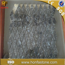 Free sample high quality cheap price blue pearl granite mosaic tile