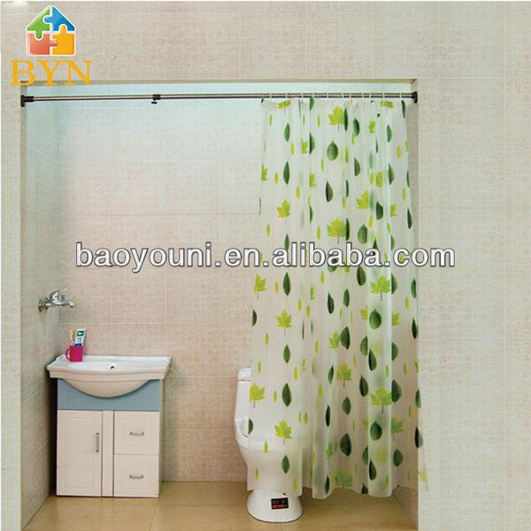 Byn de ducha cuarto de baño de la barra barra de la cortina de ducha ...