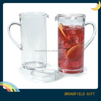 2014 Food Grade clear antique metal pitchers for Hotel, Bar and Household